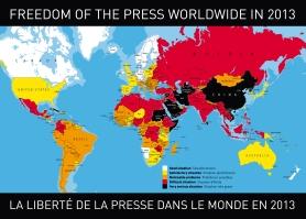 الخريطة المرفقة بالتقرير