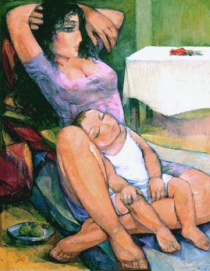 تداعيات إمرأة وطفل . ١٩٩٣