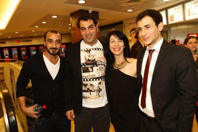 الممثلون الفلسطينيون في الفيلم