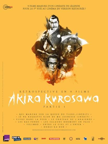 AFF RêTROSPECTIVE AKIRA KUROSAWA PARTIE 1
